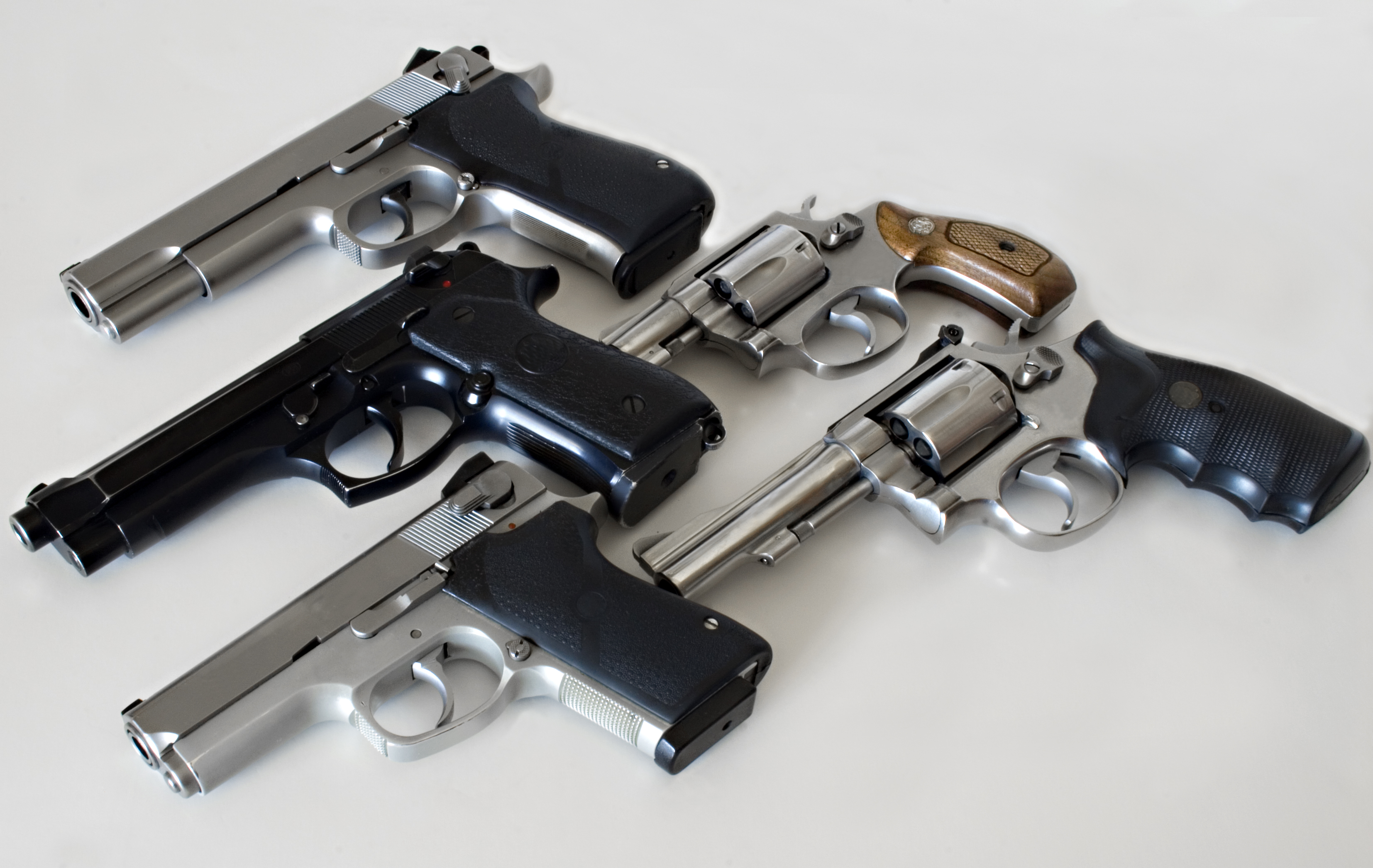 Arsenal of a typical police officer. All logos and trademarks have been removed.