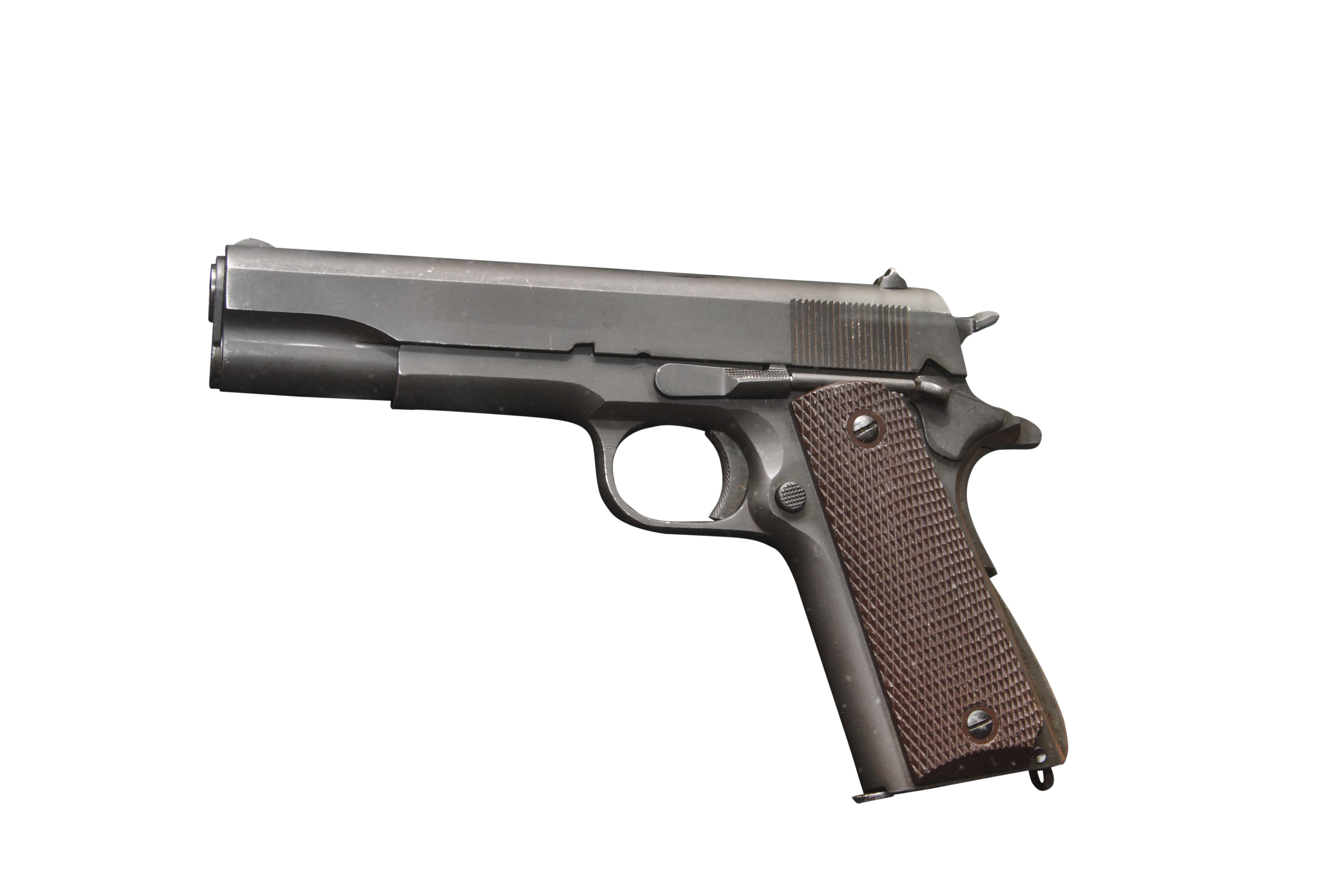 In the early 1920s, the base model Colt M1911 was slightly modified. The new model has received the proud name of Colt M1911 A1 Government Model and became the main weapons officer. In such a gun existed until the end of the Second world war.
